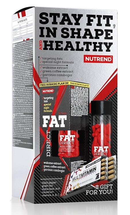 Fat Direct - 60 cps + Multivitamin Compressed Caps - 60 cps