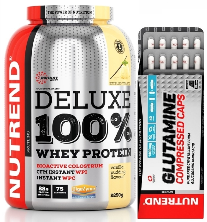 Deluxe 100 % Whey Protein - 2250 g