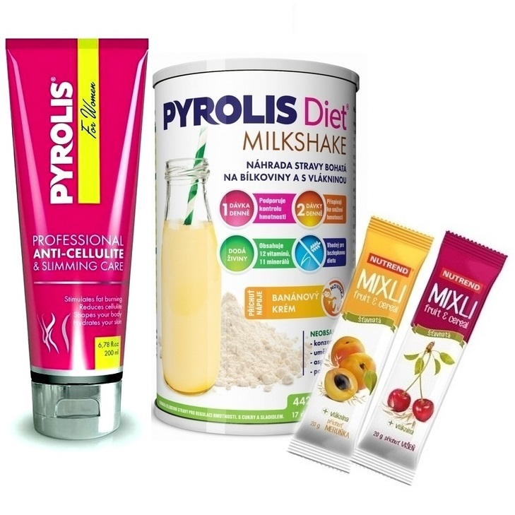 Pyrolis For Women Gel - 200 ml + Pyrolis Diet Milkshake - 442 g