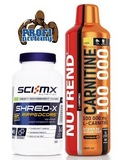 NEW Shred-X Rippedcore - 150 cps + Carnitine 100000 - 1000 ml