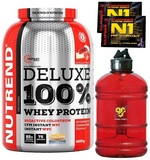 Deluxe 100 % Whey Protein - 2250 g + 2x N1 Pre-Workout - 17 g