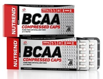 BCAA Compressed Caps - 120 cps