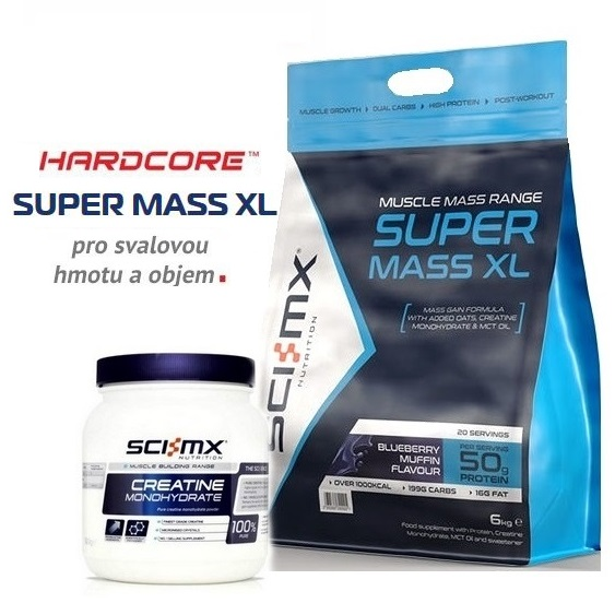 Super Mass XL- 6000 g