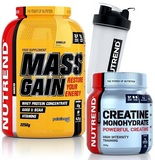 Mass Gain - 2250 g + Creatine Monohydrate - 300 g