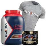 Ultra Whey Protein - 2280 g + Kevin Levrone Scatterbrain - 222 g