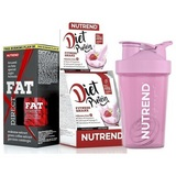 Fat Direct - 60 cps + Diet Protein - 5 x 50 g