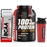 100% Whey Protein - 2270 g + BCAA Compressed Caps - 120 cps