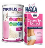 Pyrolis Diet Milkshake - 442 g + Green Tea extract - 60 cps
