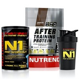 N1 Pre-Workout - 510 g + After Training Protein - 540 g