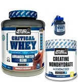 Critical Whey - 2270 g + Creatien Monohydrate - 250 g
