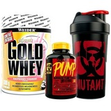 Mutant Pump - 154 cps + Gold Whey - 300 g