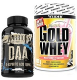 Warrior DAA - 120 cps + Gold Whey - 300 g
