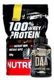 100% Whey Protein - 500 g + Warrior DAA - 120 cps