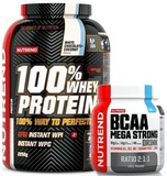100% Whey Protein - 2250 g + BCAA Mega Strong Drink - 400 g
