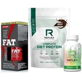 Complete Diet Protein - 600 g + Fat Direct - 60 cps