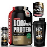 NEW 100% Whey Protein - 2250 g + Platinum 100% BCAA 8:1:1 - 60 tbl