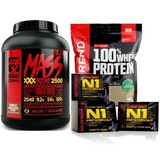Mutant Mass XXXTREME 2500 - 3180 g + NEW 100% Whey Protein - 1000 g